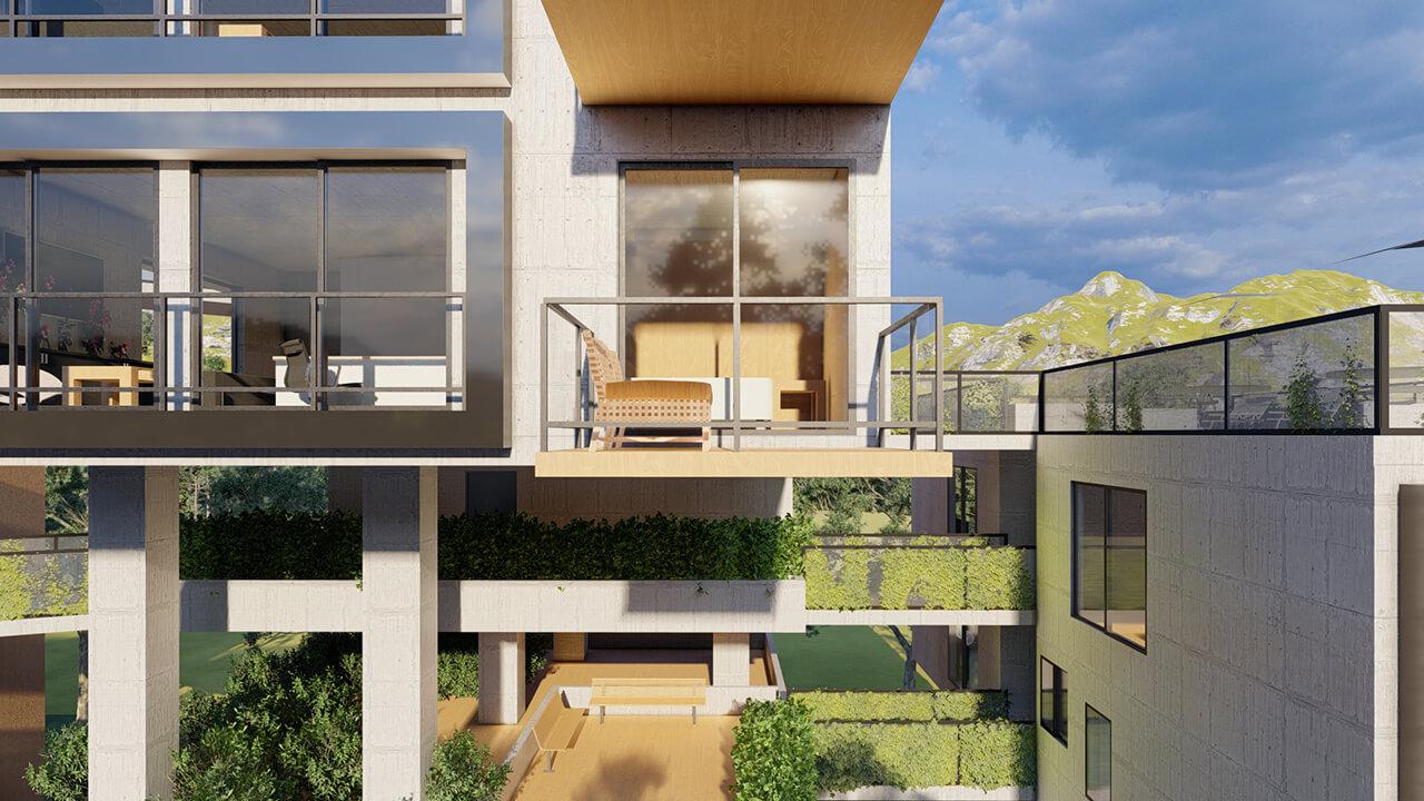 projeto de prédio