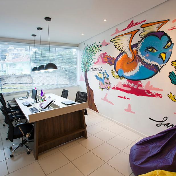 escritorio design de interiores