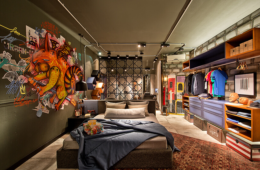 dormitório jovem